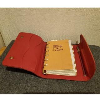 イルビゾンテ(IL BISONTE)のイルビゾンテ/IL BISONTE 手帳カバー(手帳)