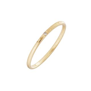 アーカー(AHKAH)のアーカー メテオール ピンキーリング 4号(リング(指輪))