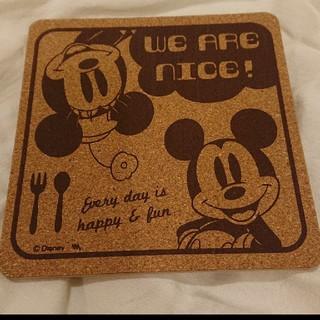 ディズニー(Disney)の【ディズニー】鍋敷き(キッチン小物)
