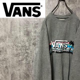 ヴァンズ(VANS)の【レア】バンズVANS☆サーフビッグロゴプリントビッグスウェット(スウェット)