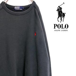 ポロラルフローレン(POLO RALPH LAUREN)の〔専用品〕90s ポロ ラルフローレン スウェット トレーナー 刺繍ロゴ(スウェット)