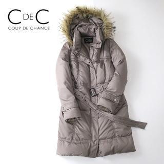 COUP DE CHANCE - CdeC クードシャンス ラクーンフードファー◎ダウンコート