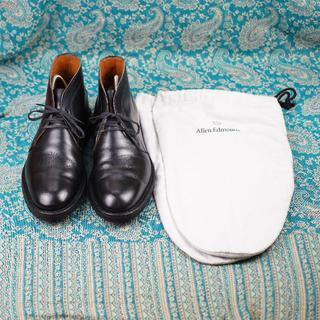 Allen Edmonds - 美品 人気チャッカ Allen Edmonds アレンエドモンズ 靴袋付 黒