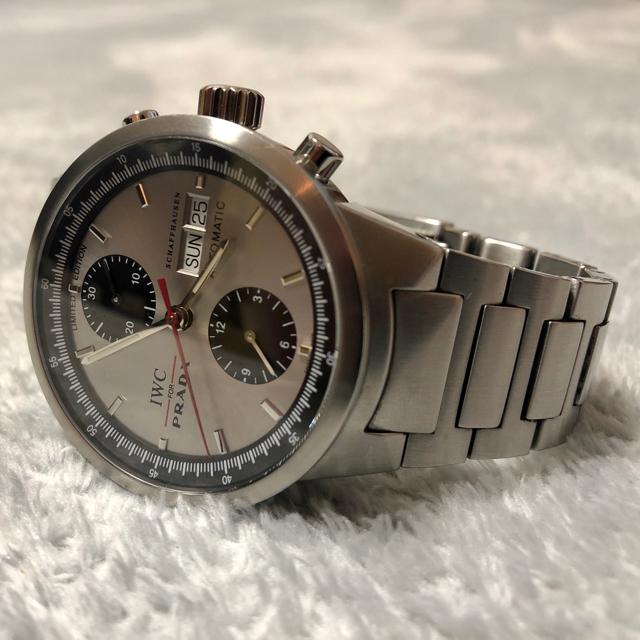 IWC - 【希少モデル】IWC×PRADA 世界限定2000本 メンズ クロノグラフ腕時計の通販
