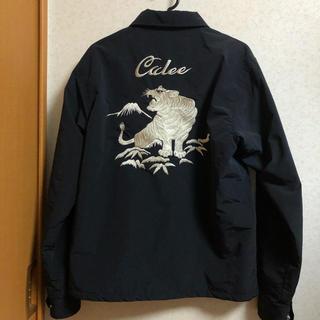 キャリー(CALEE)のCalee スーベニア コーチジャケット 刺繍(ナイロンジャケット)
