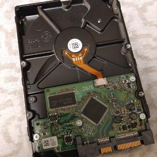 ヒタチ(日立)の3.5インチ HDDハードディスク AUG-2008 250GB SATA(PCパーツ)