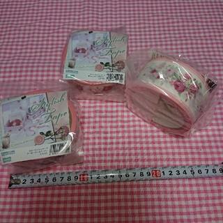 (最終お値下げ中) テープ 3個セット ローズ(テープ/マスキングテープ)