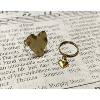 ナイスクラップ(NICE CLAUP)の❤︎ heart ring set ❤︎(リング(指輪))
