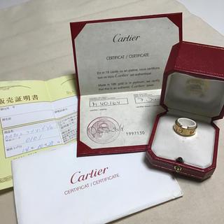 カルティエ(Cartier)のCartier カルティエ ラブリング 750 #52(12号)  YG(リング(指輪))