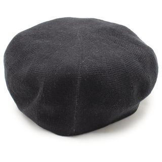 カシラ(CA4LA)のCA4LA ベレー帽 ブラック / ONESIZE(ハンチング/ベレー帽)