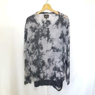 ヴィヴィアンウエストウッド(Vivienne Westwood)の★ANGLOMANIA ダメージ加工 デザイン カットソー(Tシャツ/カットソー(七分/長袖))