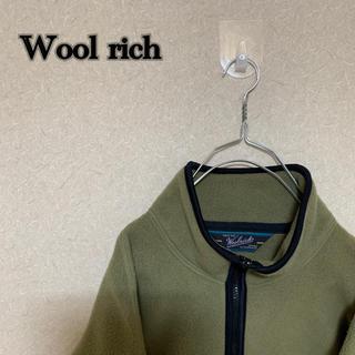 ウールリッチ(WOOLRICH)の☆大人気☆ Wool rich フリース フルジップ カーキ ウールリッチ(ブルゾン)