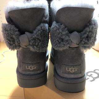アグ(UGG)のugg アグ バックリボンブーツ23センチ6サイズ新品未使用(ブーツ)