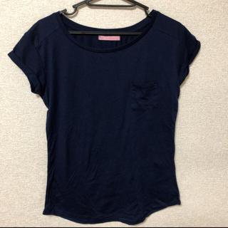 ベルシュカ(Bershka)の美品 ベルシュカ Tシャツ ポケット付 ロールアップ(Tシャツ(半袖/袖なし))