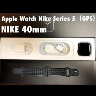 アップルウォッチ gps 40ミリ(腕時計(デジタル))