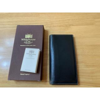 ホワイトハウスコックス(WHITEHOUSE COX)のホワイトハウスコックス ホリデーライン 長財布 ロングウォレット (長財布)
