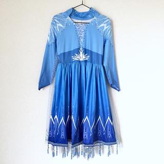 アナトユキノジョオウ(アナと雪の女王)の新品未使用 アナと雪の女王2 エルサ  ドレス(ワンピース)