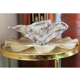 フランフラン(Francfranc)の🇺🇸US製フラワーベース & francfrancフリルマット(花瓶)
