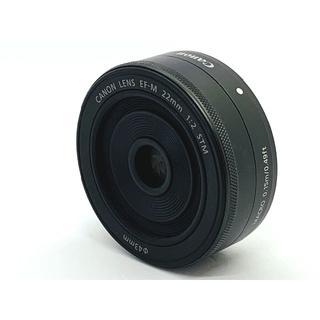キヤノン(Canon)の★明るい単焦点レンズ!★Canon EF-M 22mm F2 STM ★ブラック(レンズ(単焦点))