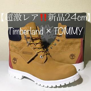 Timberland - 【超激レア‼️新品】24cm ティンバーランド × TOMMY コラボ