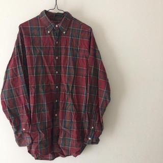 ラルフローレン(Ralph Lauren)のラルフローレン  チェックシャツ ワンポイント  ビックシルエット(シャツ)