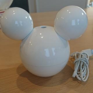 ディズニー(Disney)のミッキー 卓上加湿器 ほぼ未使用(加湿器/除湿機)