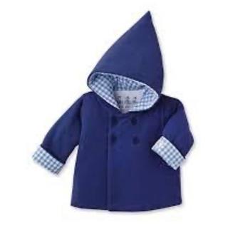 プチバトー(PETIT BATEAU)のプチバトー とんがり帽子中綿アウター(ジャケット/コート)
