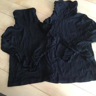 イングファースト(INGNI First)のイングファースト タートルネックセット黒(Tシャツ/カットソー)