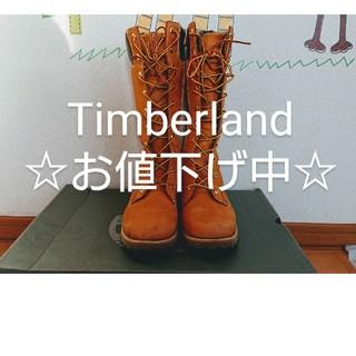 ティンバーランド(Timberland)の【Timberland】編み上げブーツ 箱付き(ブーツ)