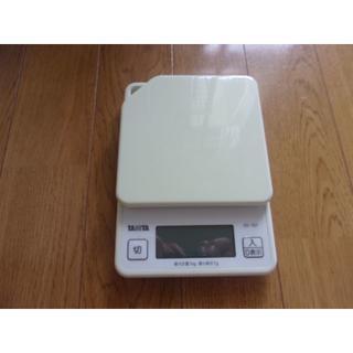 タニタ(TANITA)のタニタ デジタルクッキングスケール 1kg(調理機器)
