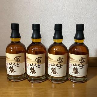 キリン(キリン)の終売ウィスキー富士山麓 樽熟原酒 50度 700ml 4本セット(ウイスキー)