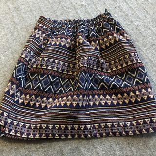 チチカカ(titicaca)の160 アジアン柄スカート 子どもに(スカート)