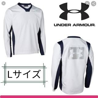 UNDER ARMOUR - アンダーアーマー ウインドブレーカー Lサイズ、野球/サッカー/アウトドア、防風