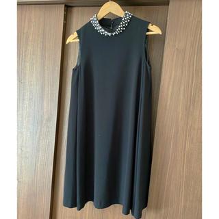 オルベネ(ORBENE)のASHILL パーティードレス 黒 ブラック(ミディアムドレス)