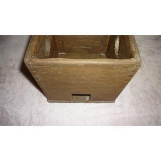 ふとこぶらくだ様 専用です ハタミシン 家庭科教材など 電化こて木箱ケース②(アイロン)