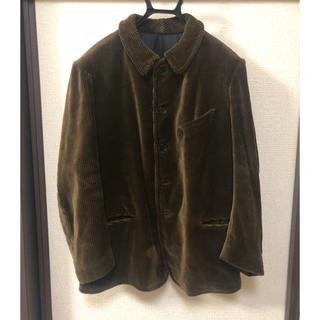 UNUSED - 30s40sフランス  ファーマーズジャケット コーデュロイ 太畝