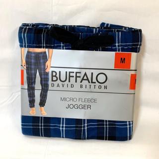 バッファロー(Buffalo)の新品■BUFFALO メンズ フリース パンツ Mサイズ パジャマ ルームウエア(その他)