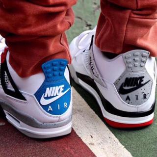 ナイキ(NIKE)の左右非対称◆ Nike Air Jordan 4 WHAT THE ◆(スニーカー)