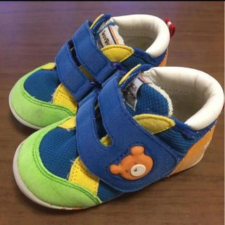 ホットビスケッツ(HOT BISCUITS)のホットビスケッツ キッズスニーカー靴12.5cm ミキハウス(スニーカー)