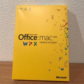 マイクロソフト(Microsoft)のMicrosoft Office for Mac 2011 (PC周辺機器)