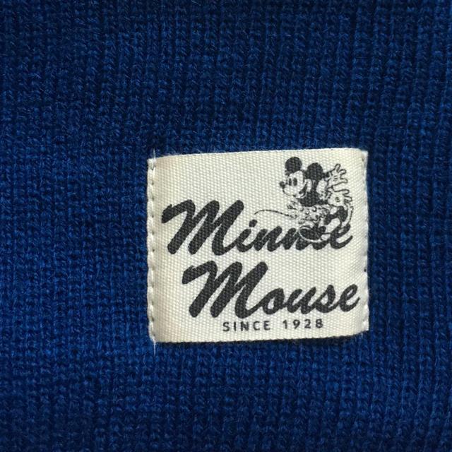 Disney(ディズニー)のこども用  裏ボア  ネックウォーマー  ミニー キッズ/ベビー/マタニティのこども用ファッション小物(マフラー/ストール)の商品写真