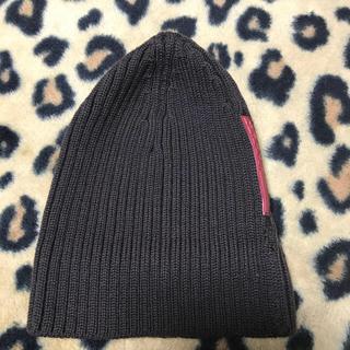 プラダ(PRADA)のPRADA プラダ スポーツ ニット帽子 ブラウン ビーニー キャップ グッチ(ニット帽/ビーニー)