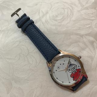 リトルミー(Little Me)のムーミン  リトルミィ 腕時計  クックパッドプラス2019年秋号 特別付録(腕時計)