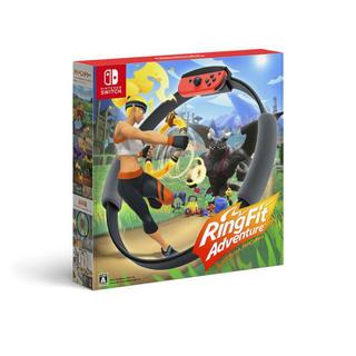 ニンテンドースイッチ(Nintendo Switch)のswitch リングフィットアドベンチャー 新品(家庭用ゲームソフト)