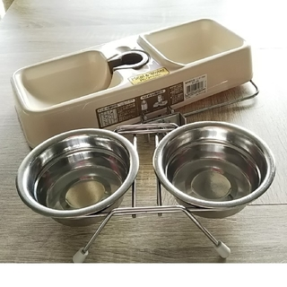 アイリスオーヤマ(アイリスオーヤマ)のペット用 給餌給水器&ツインディッシュS(その他)