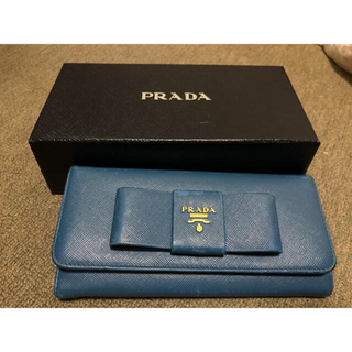 プラダ(PRADA)のプラダ サファイアーノ 長財布(財布)