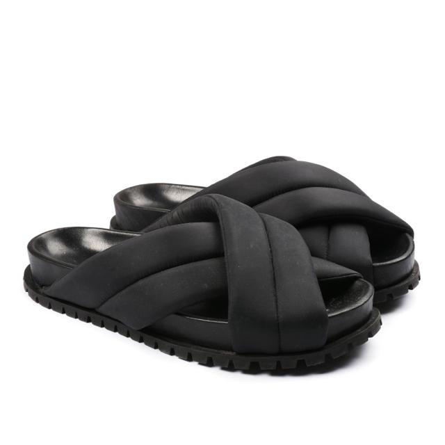 Jil Sander(ジルサンダー)のJil Sander ジルサンダー サンダル 42 ブラック 箱付き  メンズの靴/シューズ(サンダル)の商品写真