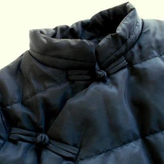 フォーティーファイブアールピーエム(45rpm)の新品 チャイナ デザイン ダウンジャケット :ブラック フリー(M~L)/チャイ(ダウンジャケット)