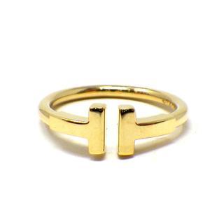ティファニー(Tiffany & Co.)のティファニー Tワイヤーリング 750YG 実寸約9号(リング(指輪))