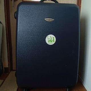 アメリカンツーリスター(American Touristor)のキャリーケース トランク 海外旅行 ネイビー 紺 鍵付き 4輪(旅行用品)